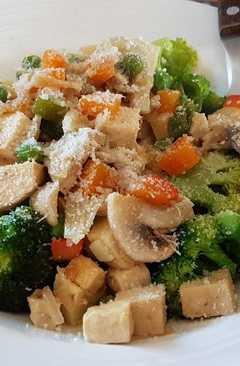 resep masakan stir fry tofu n veggies