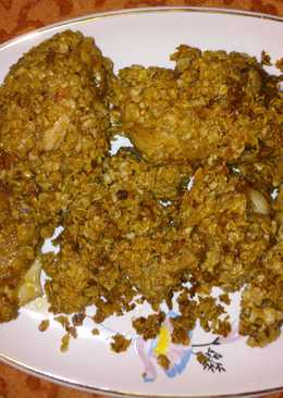 Crunchy Oats chicken