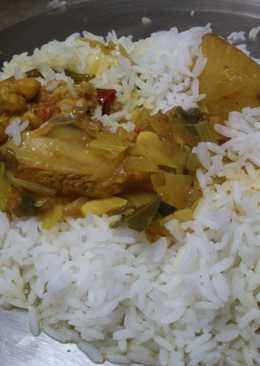 Kosha murgir mangsho (Stirred Chicken Curry...the Bong version)