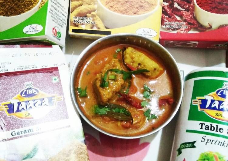Dhokar dalna (an authentic Bengali veg  Recipe) Recipe by