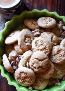 Masala-Chai and Pistachio Cookies makes tea time more interesting!