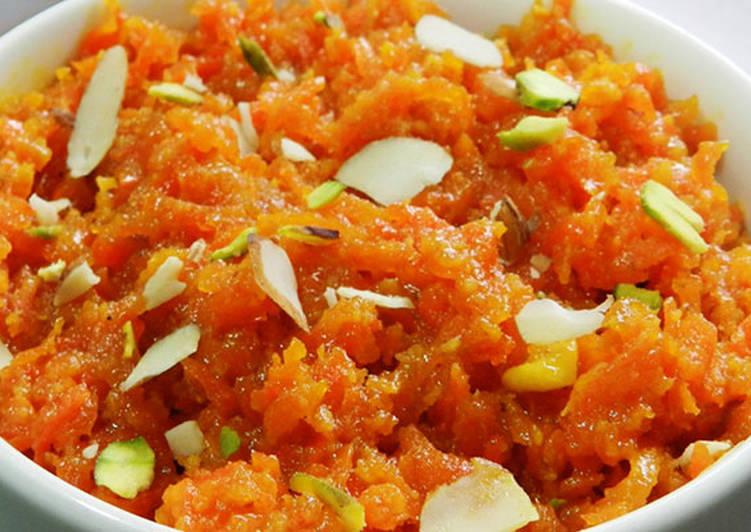 Gajar Ka Halwa - Carrot Dessert