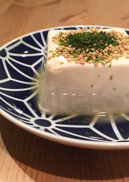 Healthy! Tofu with sesame!Japanese