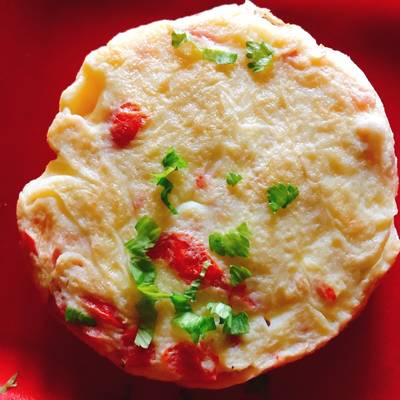 Fried omelette