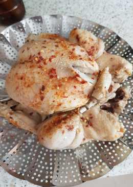 My Steam, Pressure cooked Salt & Pepper Chicken. 😀