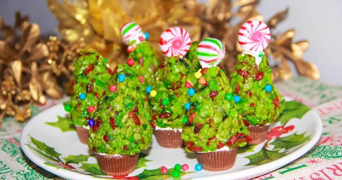Christmas Rice Krispies.Rice Krispies Christmas Trees