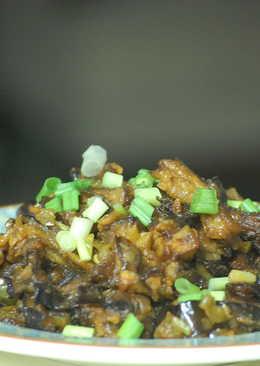 Brinjal Manchurian/Vazhuthananga Manchurian/Eggplant Manchurian
