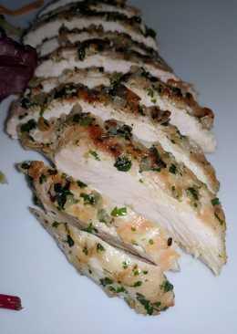 Grilled Chicken Breast w/ Garlic & Parsley