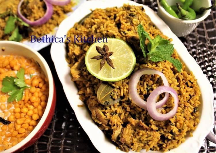 Dindigul Thalappakatti Mutton Biryani Recipe by Bethica Das