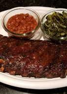 """Smoked"" BBQ Ribs"