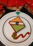 Tricoloured Kite Creamy Sandwich