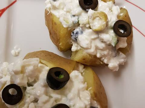 Prime Cottage Cheese And Pineapple Jacket Potatoes Recipe By Interior Design Ideas Gentotryabchikinfo