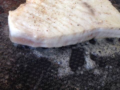 Simple Seared Swordfish recipe step 2 photo