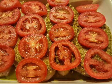 Pesto, Tomato, & Mozzarella Baked Chicken recipe step 6 photo