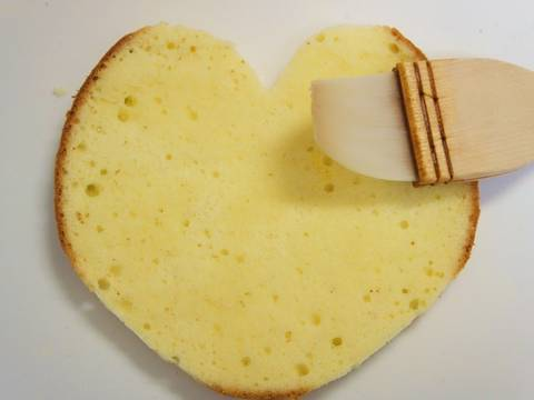 Heart Shaped Decorated Cake Recipe Step 7 Photo