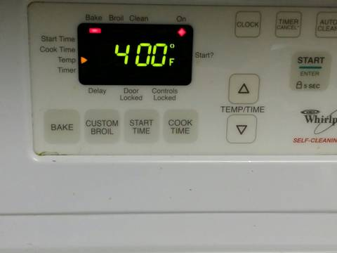 Meanwhile preheat oven to 400°F