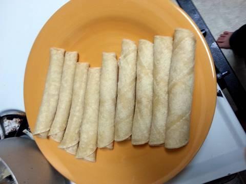 how to cook homemade taquitos