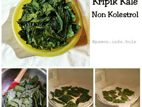 Kale Chips In The Microwave Recipe Step 3 Photo