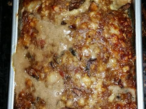 Bacon, Mushroom, Swiss Meatloaf Recipe by Fo Fa - Cookpad