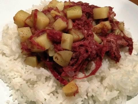 Better Filipino Corned Beef Recipe By Downshift Wot Cookpad