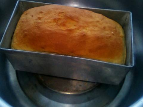 When it's fully baked and golden brown in color. Remove and let it cool.