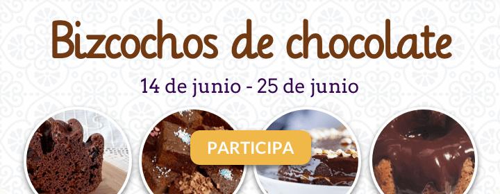 Semana de los bizcochos de chocolate