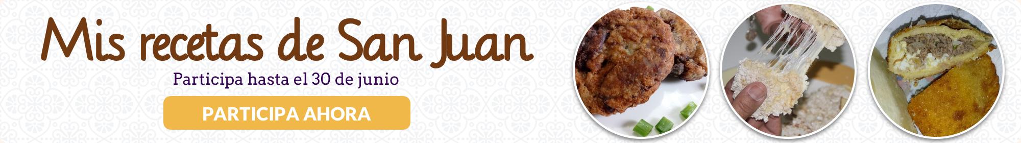 Mis recetas de San Juan