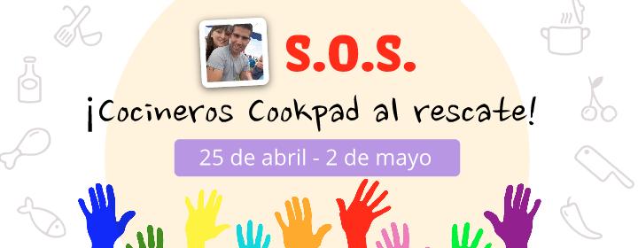 S.O.S! Cocineros Cookpad al Rescate! 👨🏼🍳