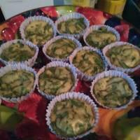 Muffin de espinaca