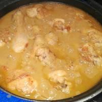 Jamoncitos de pollo a la mostaza