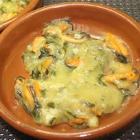 Mejillones en salsa verde