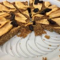 Torta de manzana fit y light. Sin azúcar y sin harina