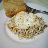 Gulas con huevos y patatas