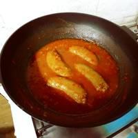 Chorizos a la pomarola