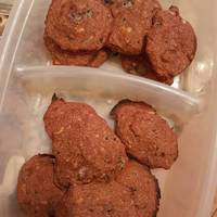 Galletas de avena veganas sin huevo, sin leche, sin harinas