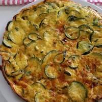 Tortilla de zapallitos zucchinis