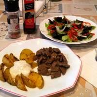 Salsa blanca kebab