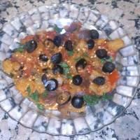 Zaalouk. Ensalada de Berenjenas Marroquí