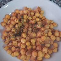 Garbanzos fritos