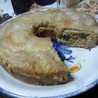 Tarta de zapallitos verdes y choclo (con masa casera)