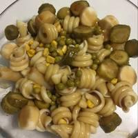 Ensalada de pasta y pollo con vinagreta de miel #Recetasdefindemes