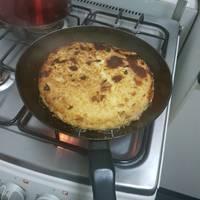 Tortilla de arroz y verduras #nolotires