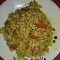 Quinoa con arroz integral y verduras