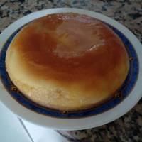 Pastel flan-caramelo