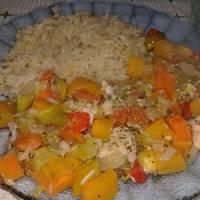 Pollo y verduras al horno en 15 min!! #SOSFranco