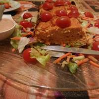 Pastel de coliflor ligero