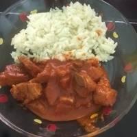Carne de puerco en chile pasilla