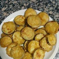Berenjenas en tempura