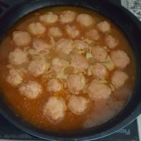 Albóndigas de carne al pimentón