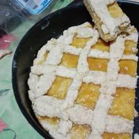 Pasta frola con harina leudante